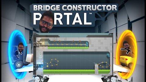 Bridge Constructor Portal: Levels 11-13