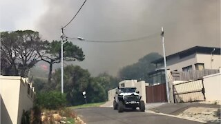 Walmer Estate residents evacuate as fire approaches
