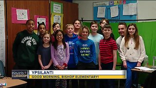 Kevin's Classroom: Good morning, Bishop Elementary!