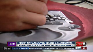 Prison Art Class giving inmates a clean canvas