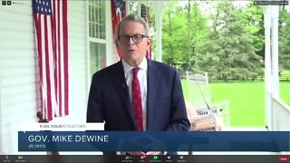 DeWine tests positive for coronavirus in test that was protocol to greet Trump in Cleveland