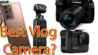 Comparing 4 Different cameras/Which is best for vlogging?