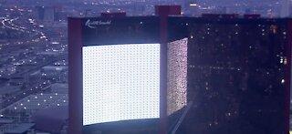Resorts World tests out its mega screen