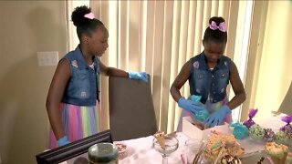 Sisters create their own business with Little Sistas Treats