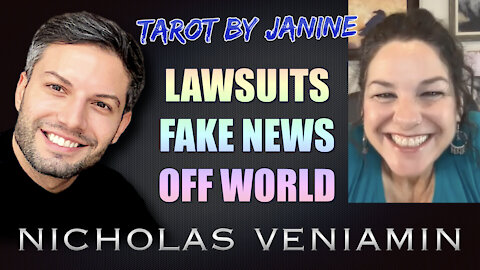Tarot By Janine Discusses Lawsuits, Fake News and Off World with Nicholas Veniamin