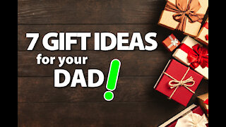 7 Best Gift Ideas for Dad's Christmas! 👀🙋🏽♂️🎁