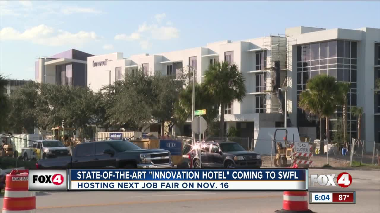 Innovation Hotel bringing employment opportunities to SWFL