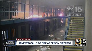 Renewed calls to fire Arizona Prison Director