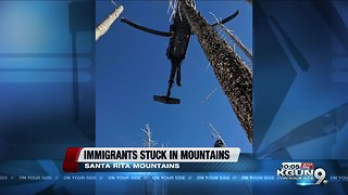 Migrants rescued from Santa Rita mountains