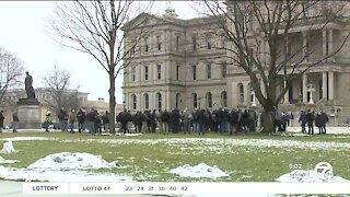 Security remains tight at Michigan Capitol ahead of Biden inauguration