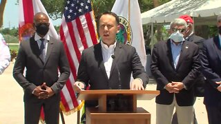 FULL NEWS CONFERENCE: Palm Beach County coronavirus news conference