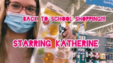 Back to School Shopping!! Ft. Katherine and Mackenzie