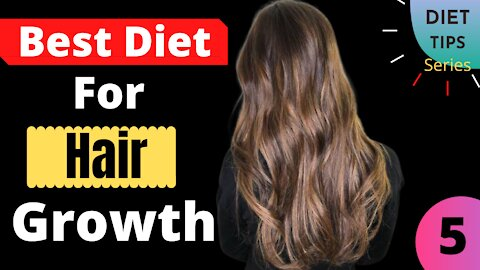 10 Tips To Grow Your Hair Back With The Right Diet   Diet Tips Series   Video No-5   Health Zone