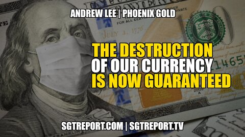 INFLATION ALERT: THE DESTRUCTION OF OUR CURRENCY IS NOW GUARANTEED