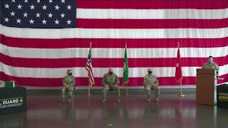 Washington National Guard RRB Change of Command