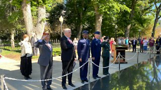 Gov. Steve Sisolak honors fallen soldiers on Memorial Day