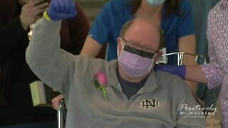Local man is sent home after spending 30 days in the hospita;