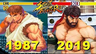 Explore Evolution Of Street Fighter All Series Games (1987 - 2019)