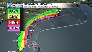 Will Dorian Make It To Maryland?