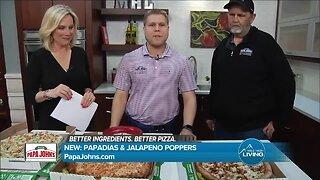 Papa John's Pizza - Papadias & Jalapeno Poppers