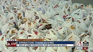 Della Lamb providing for families in need
