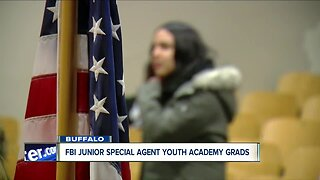 FBI Junior Special Agent Youth Academy graduation in Buffalo