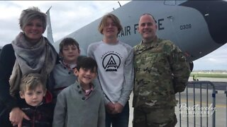 One Pewaukee family faces the struggles of a military family