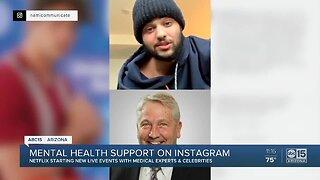 Mental health support on Instagram