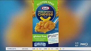 Gluten free mac and cheese now available