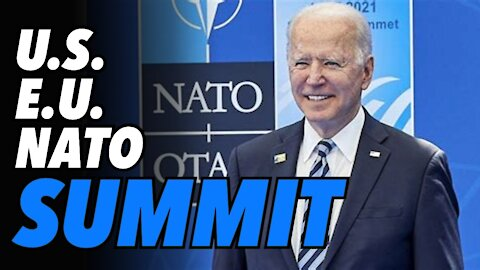 US-EU NATO Summit. US back paying the bills. Ukraine says they are in NATO