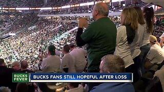 Bucks fans still hopeful after losses