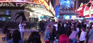 Before the big night in Las Vegas