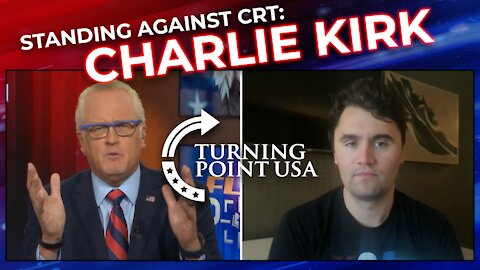 Charlie Kirk Interview, Standing Against Critical Race Theory   FlashPoint