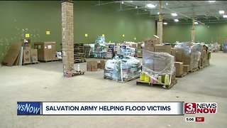 Salvation Army helps out flood victims in Omaha