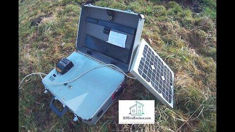 DIY Solar Suitcase - A Complete 300Watt Solar Generator in a Suitcase