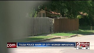 Tulsa police warn of city worker imposters