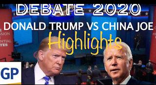 Presidential Debate Highlights 2020
