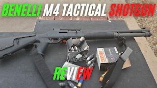 "Benelli M4 Tactical 12-ga 18.5"" Semi-Auto Shotgun w/ Pistol Grip Review"