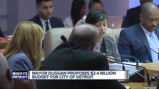Mayor Duggan proposes $2.4 billion budget for city of Detroit