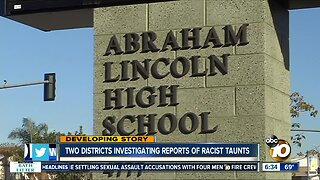 School districts look into racial taunts allegations