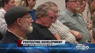Neighbors oppose east Tucson development