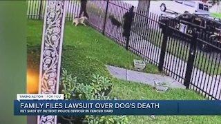 Detroit woman files lawsuit over dog's death