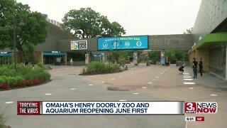 Omaha's Henry Doorly Zoo & Aquarium details plans to reopen Part 1