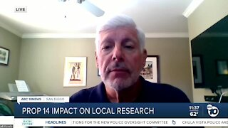 Prop. 14's impact on local research