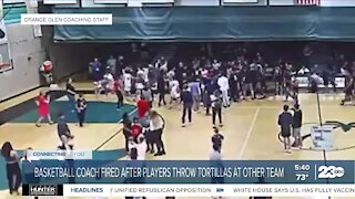 High school basketball coach ousted by California district after tortilla-throwing incident