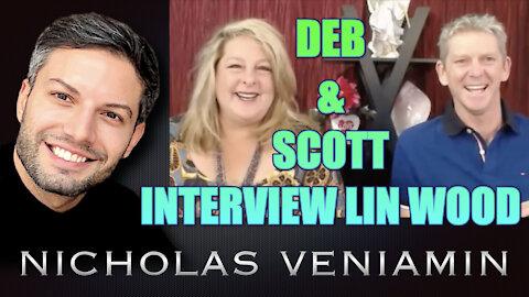 Deborah & Scott Interview Lin Wood and Shares Clip with Nicholas Veniamin
