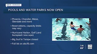 Valley city pools helping families stay cool