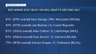 Steve Yzerman breaks down Red Wings 2020 draft