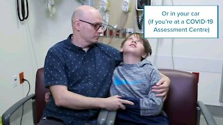 HOW CHILDREN ARE TESTED FOR COVID
