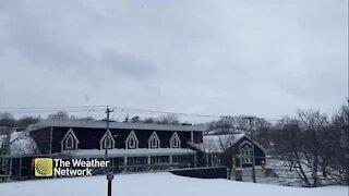 Winter weather sticks around in St. John's, NL